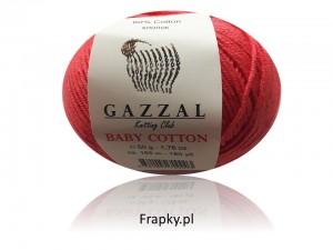 Baby Cotton Gazzal 3418 ceglasty