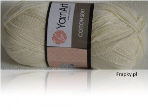 Cotton Soft Yarnart 03 ecru