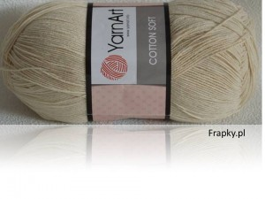 Cotton Soft Yarnart 05 beż