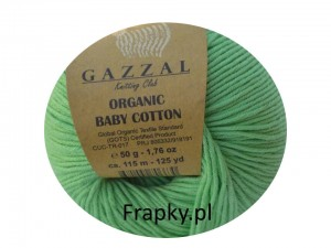 Organic Baby Cotton Gazzal  421 zielony