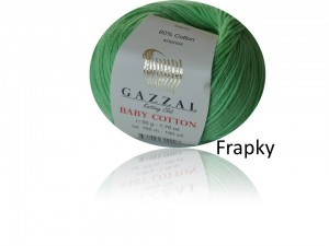 Baby Cotton Gazzal 3466 zielony
