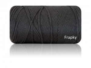 Macrame Cotton Yarnart  758 grafit