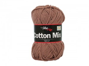 Cotton Mix Vlna Hep  8223 brąz