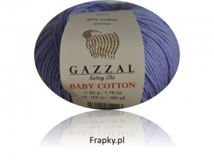 Baby Cotton Gazzal 3420 fiolet