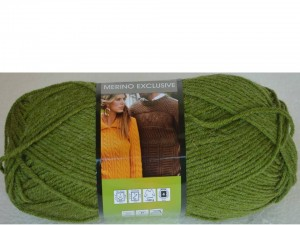 Merino Exclusive Yarnart 780 zielony