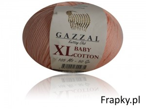 Baby Cotton XL Gazzal 3412 łosoś
