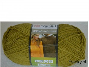 Merino Exclusive Yarnart 771 zielony